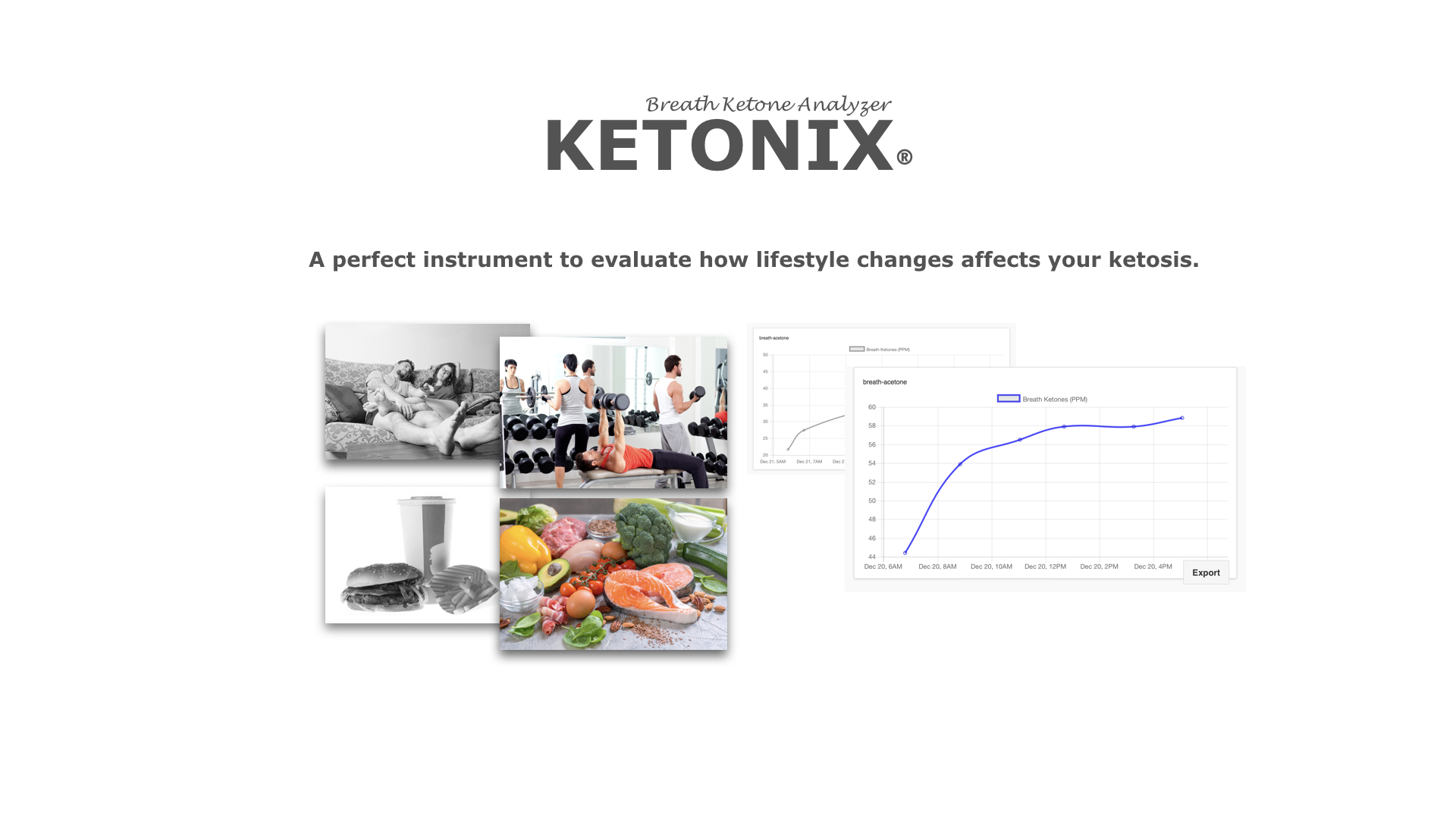KetoNIX® Breath Ketone Analyzer